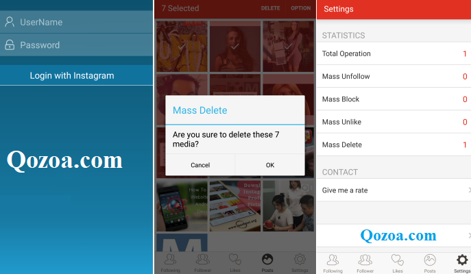 How To Delete Multiple Photos using Mass Delete for Instagram