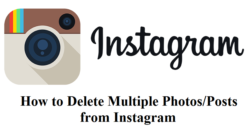 Delete Multiple Photos from Instagram