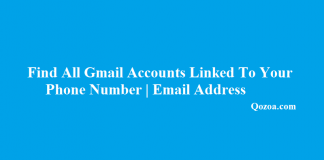 Find All Gmail Accounts Linked To Your Phone Number Email Address