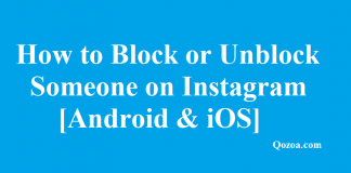 Block or Unblock Someone on Instagram
