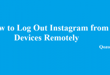 Log Out Instagram from All Devices Remotely
