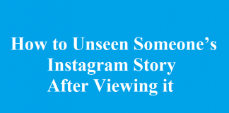 How to Unsee Someone's Instagram Story After Viewing it