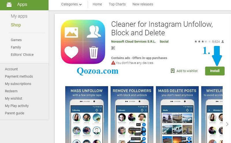 Cleaner for Instagram [Android]