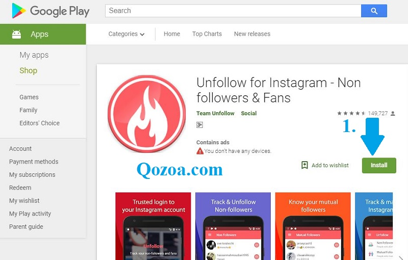 Unfollow for Instagram – No followers & Fans [Android]