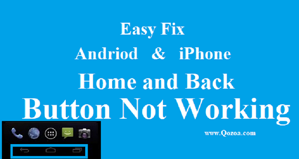android home button not working