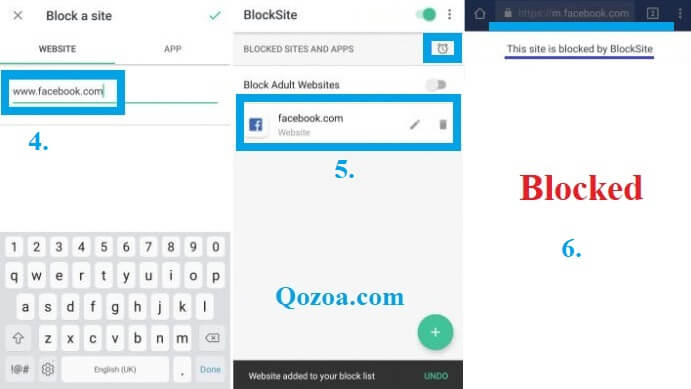 How To Block Websites on Android Device