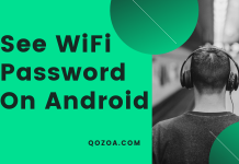 how to see saved wifi password on android device