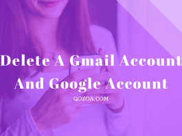How to delete a Gmail account and google account